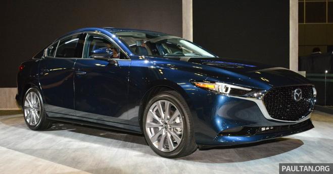 Ảnh thực tế Mazda 3 2019 hoàn toàn mới, lần đầu tiên ra mắt thị trường Đông Nam Á - 1