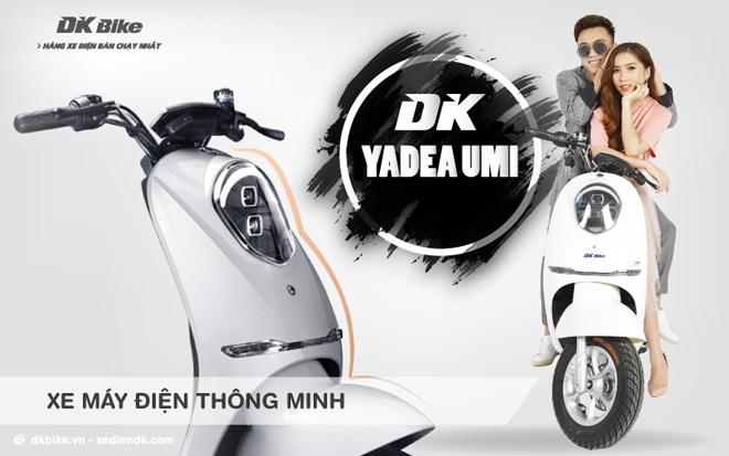 Vì sao DK Yadea CUMI được đánh giá là xe điện thông minh? - 1