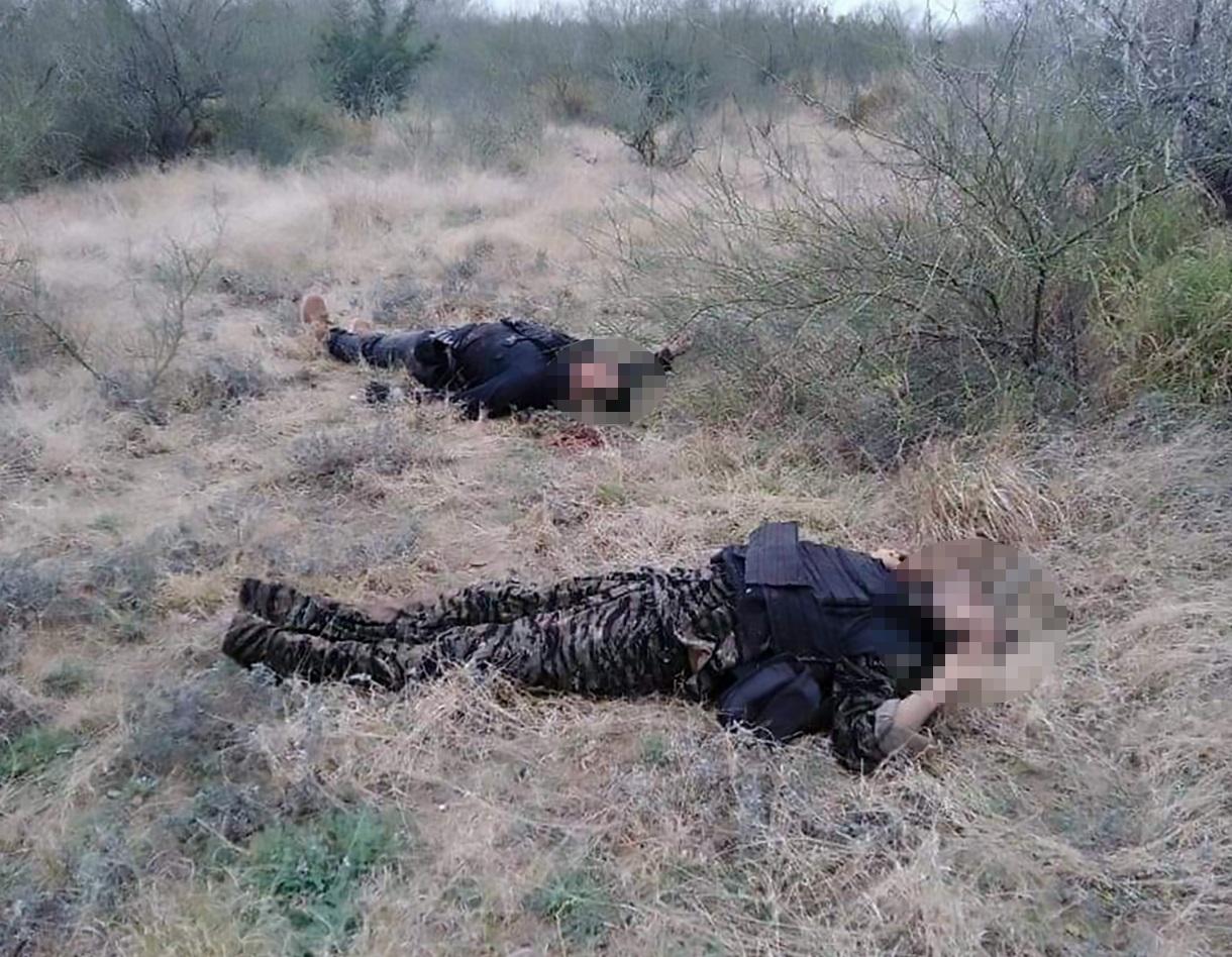 Băng đảng Mexico hỗn chiến đẫm máu, 20 thi thể nằm gần biên giới Mỹ - 1