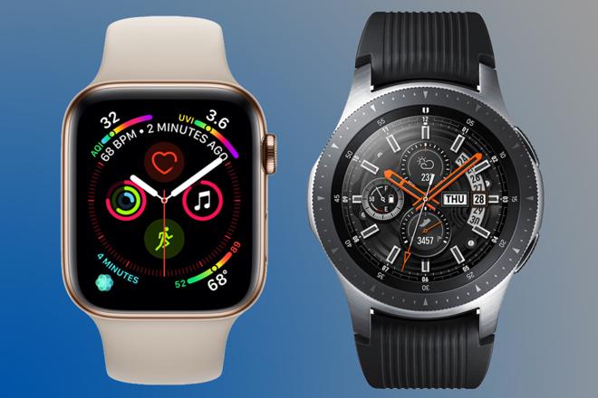 So sánh Samsung Galaxy Watch và Apple Watch Series 4 - 1
