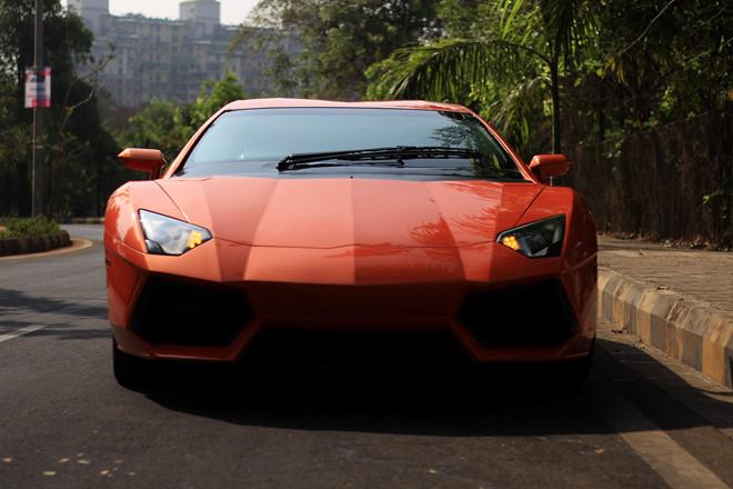 Độc đáo ô tô Honda độ thành Lamborghini Aventador giống y như thật - 1