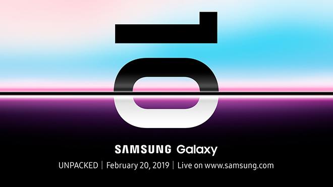 Samsung xác nhận thiết kế và chốt ngày ra mắt Galaxy S10 - 1