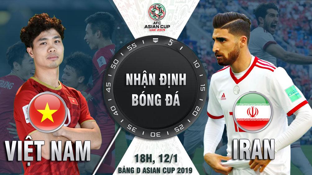 """Asian Cup, ĐT Việt Nam - ĐT Iran: Mơ tạo """"địa chấn"""" ở thế chân tường - 1"""