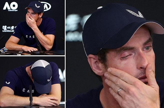 Ngỡ ngàng: Murray tuôn lệ tuyên bố giải nghệ trước Australian Open - 1