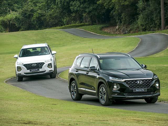 So sánh trang bị trên 6 phiên bản Hyundai SantaFe 2019 vừa ra mắt khách hàng Việt Nam