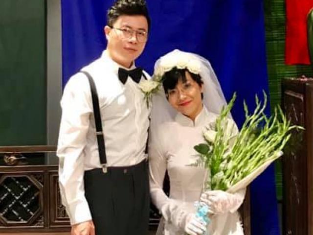 """MC Thảo Vân khoe ảnh cưới """"phi công"""" kém 7 tuổi: Sự thật ngã ngửa"""