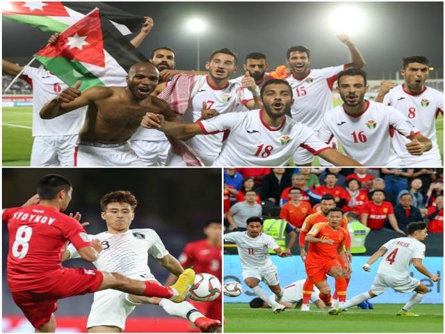 Anh hào tiến vào vòng 1/8 Asian Cup gồm những ai?