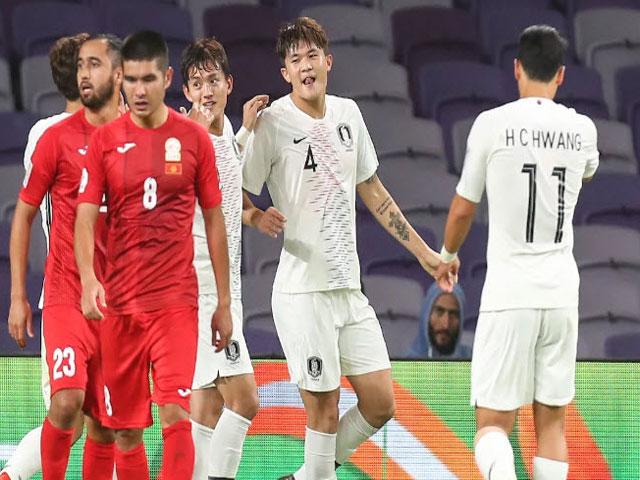 """Asian Cup, Hàn Quốc - Kyrgyzstan: Khung thành """"ma ám"""", đánh đầu quyết định"""