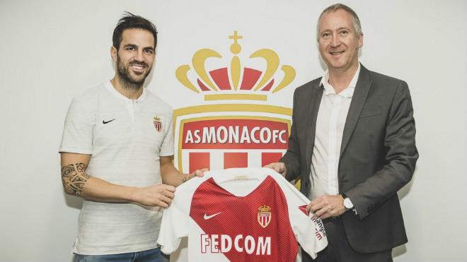 Chuyển nhượng HOT 12/1: Cesc Fabregas chính thức đến Monaco - 1