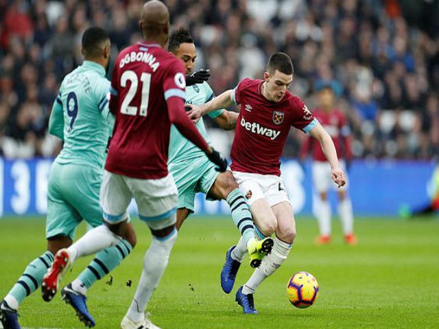 """West Ham - Arsenal: """"Sấp mặt"""" với đòn phủ đầu phút 48"""