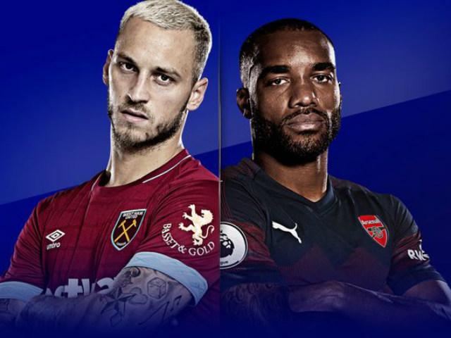 Trực tiếp bóng đá West Ham - Arsenal: Chiến thắng là trên hết