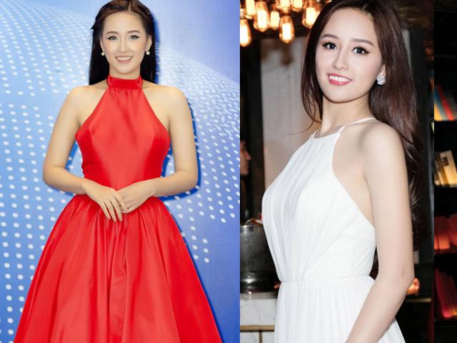 """Mai Phương Thúy mặc váy yếm """"lai"""" truyền thống với hiện đại"""