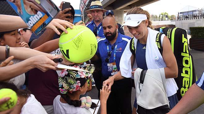 """Australian Open nóng như lửa: Nadal, Sharapova """"gồng mình"""" chống chọi - 1"""