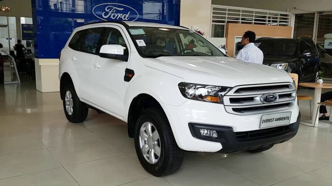Giá xe Ford Everest 2019 cập nhật mới nhất - Mua xe Ford Everest giá tốt nhất thị trường - 1