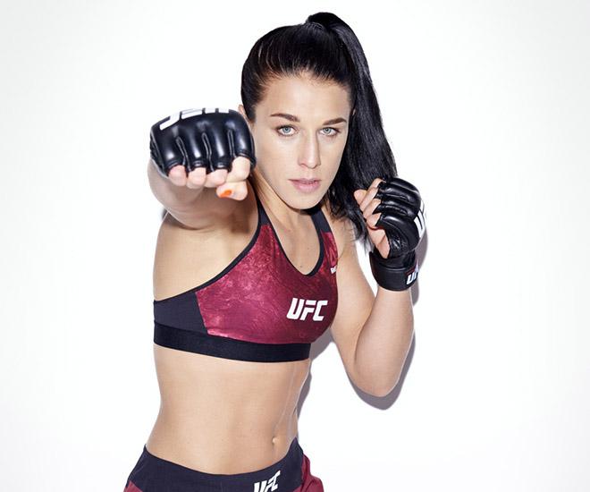 """Mỹ nữ UFC bỗng dưng """"nảy nở căng tròn"""" khiến mày râu mê mệt - 1"""
