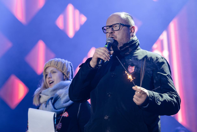 Video thị trưởng Ba Lan bị đâm chết ngay trên sân khấu ca nhạc - 1