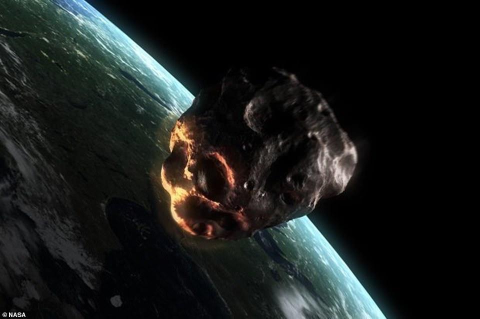 Tiểu hành tinh sức đâm mạnh gấp 80.000 bom nguyên tử có thể gây tận thế - 1