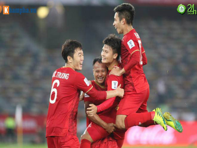 It's hard to believe that Vietnam's script in Yemen, just 1 point, is still in the round of 1/8 Asian Cup