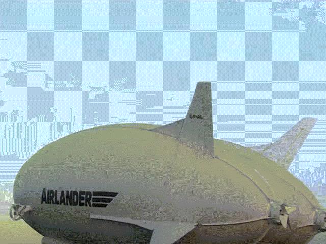 Cận cảnh siêu máy bay lai khinh khí cầu cải tiến thế hệ mới