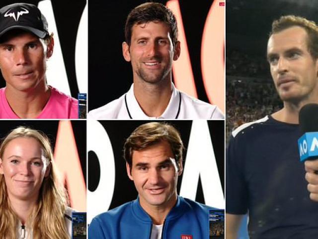 """Murray báo """"tin buồn"""" ở Australian Open: Federer-Nadal-Djokovic nói gì?"""