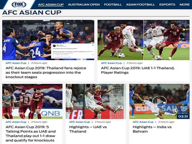 """Thái Lan gây chấn động Asian Cup: Báo Thái """"nổ"""" tưng bừng mừng chiến tích"""