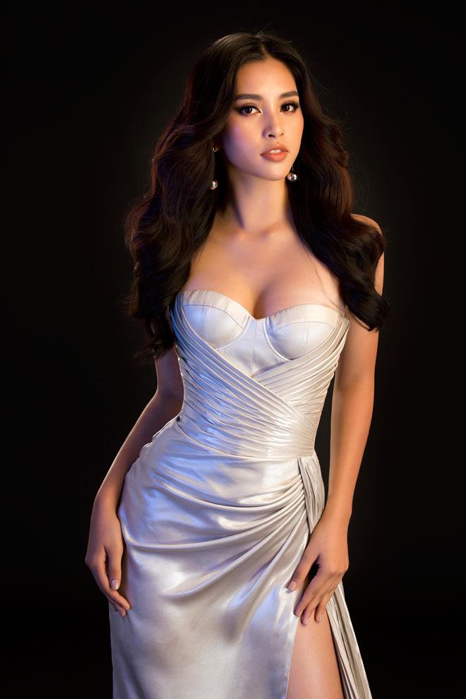 Hoa hậu Tiểu Vy, Đỗ Mỹ Linh gợi ý mặc đầm dạ hội Tết này - 1