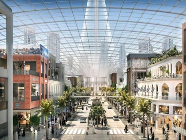 """Giàu """"nứt đố đổ vách"""", người dân Dubai làm gì ở các trung tâm thương mại? - 1"""