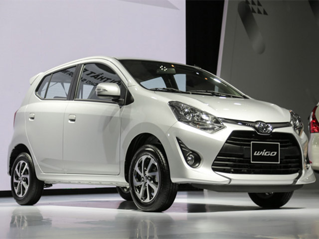 Buy the Toyota Wigo 2019 with the latest discount at the dealer