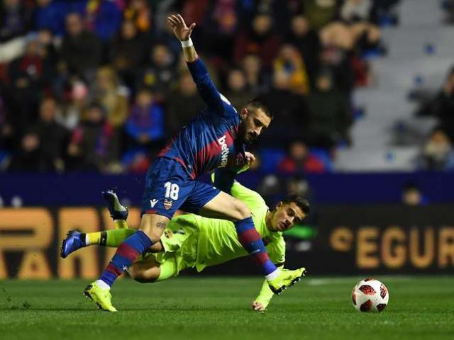 """Barcelona – Levante: Soi Messi cứu đội nhà thế """"cửa tử"""""""