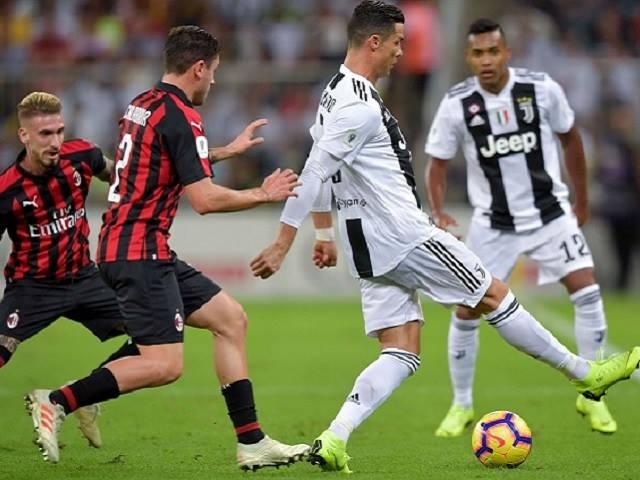Juventus - AC Milan: Tưng bừng tấn công, Ronaldo định đoạt siêu cúp