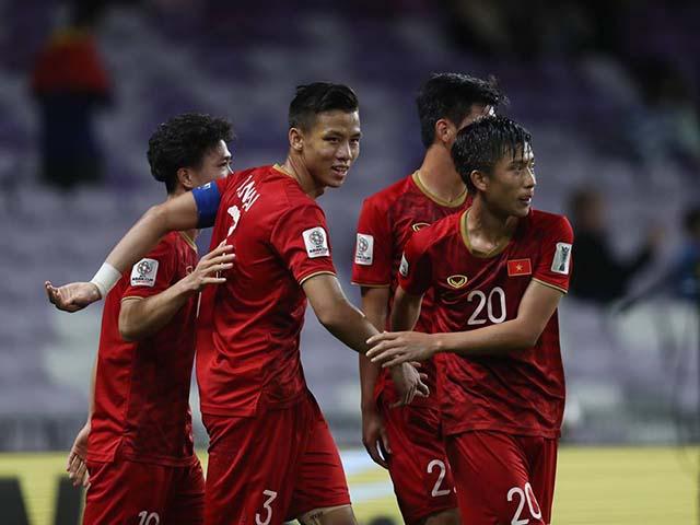 Nghẹt thở các kịch bản Việt Nam chờ vé vớt ngày 17/1 Asian Cup 2019