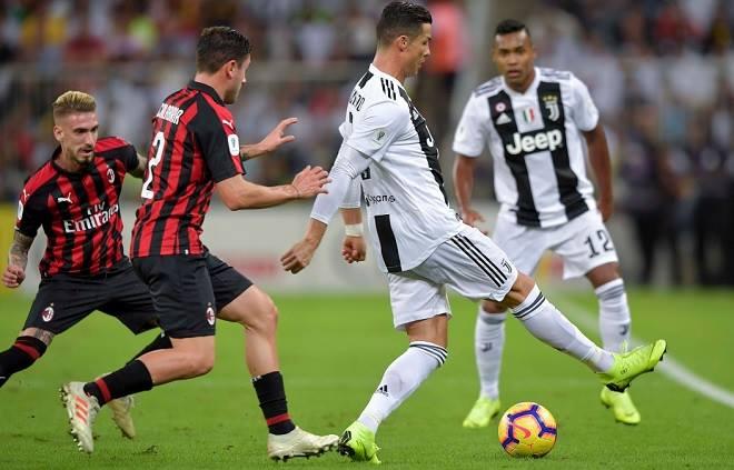 Juventus - AC Milan: Tưng bừng tấn công, Ronaldo định đoạt siêu cúp - 1