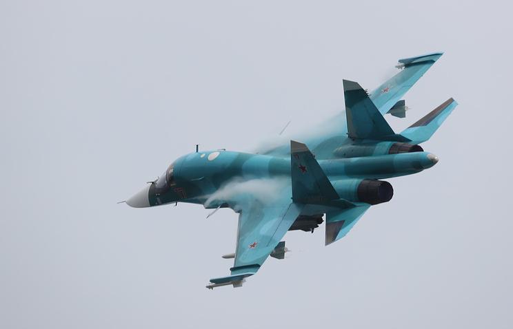 Hai máy bay ném bom Su-34 đâm nhau trên bầu trời Nga - 1