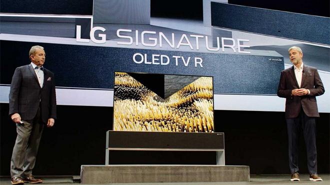 """LG """"bội thu"""" tại CES 2019, TV OLED Signature R9 cuộn """"bá đạo"""" - 1"""