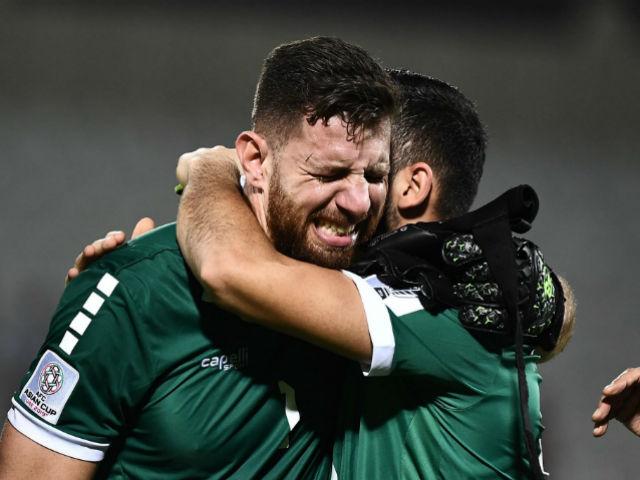 Lebanon ghi bàn phút 90+8 khóc nức nở vì mất vé vớt về ĐT Việt Nam