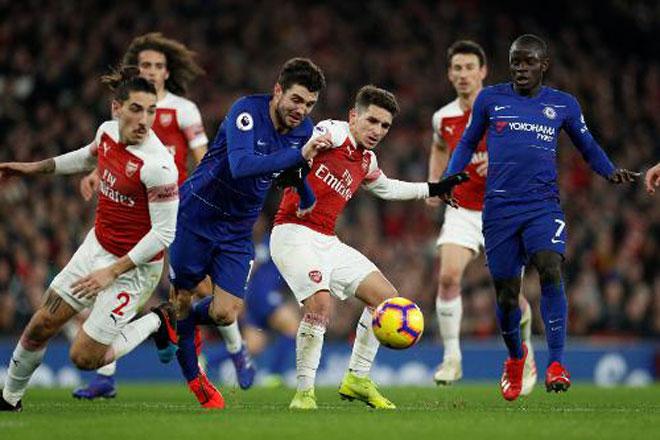 Arsenal - Chelsea: Tấn công bốc lửa & hai đòn choáng váng - 1