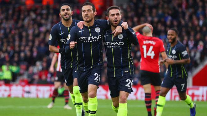"""Huddersfield - Man City: """"Bắt nạt"""" tiểu nhược, bám đuổi Liverpool - 1"""