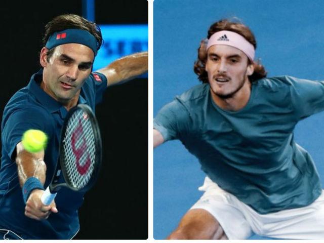Video, kết quả tennis Federer - Tsitsipas: Trận động đất 3 loạt tie-break (Vòng 4 Australian Open)