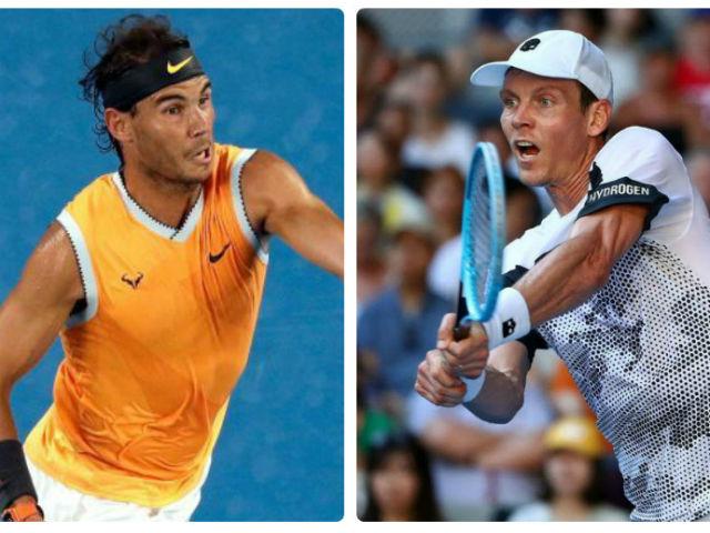 """Trực tiếp tennis Nadal - Berdych: """"Bò tót"""" hừng hực chờ mồi ngon"""