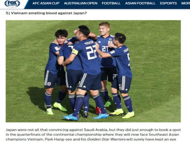 """Nhật Bản nhọc nhằn vào tứ kết Asian Cup: Báo châu Á đoán """"sập bẫy"""" Việt Nam"""