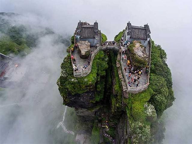 """Sửng sốt trước """"thành phố bầu trời"""" mà người Trung Quốc bảo tồn hơn 500 năm"""