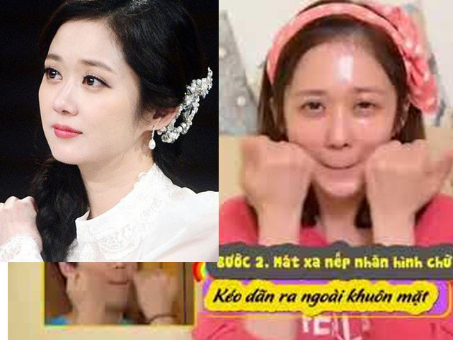 Jang Na Ra Korea is the youngest girl to drill her face every day