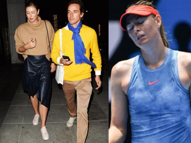 Sharapova kể chuyện ngủ cùng bạn trai ở Australian Open: Dấu hỏi khi thua trận