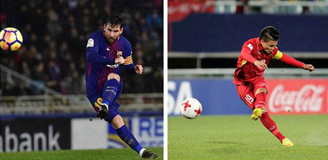 Asian magazines compare Quang Hai to Messi, praise the sharp weapon - 1