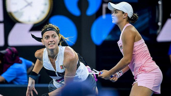 """Australian Open ngày 9: Kvitova gieo sầu chủ nhà, """"ngựa ô """" vào bán kết - 1"""