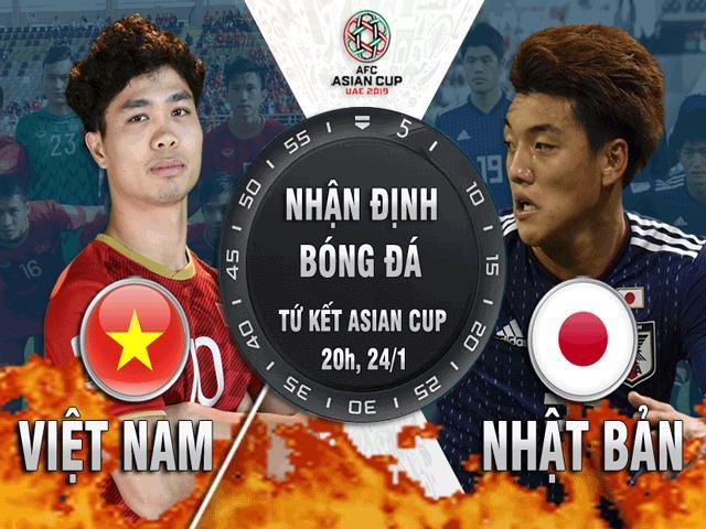"""Nhận định bóng đá Asian Cup, Việt Nam - Nhật Bản: Khát vọng quật ngã """"khổng lồ"""" châu Á"""