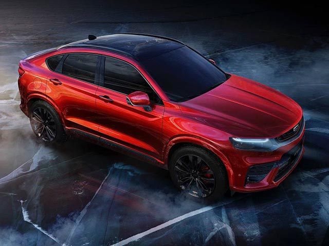 Upcoming Chinese sports SUV, similar to the BMW X4 and the Mercedes-Benz GLC Coupe