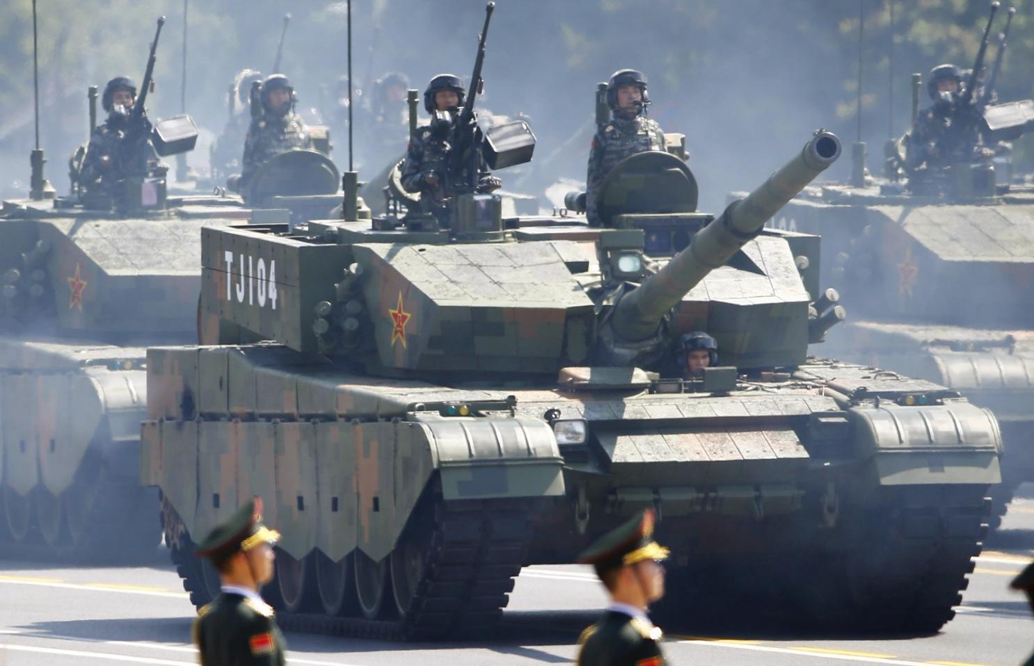 """允许士兵使用99A  -  2型""""型号之王""""后,中国担心什么"""