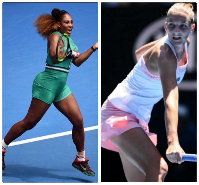 Serena - Pliskova: Nữ hoàng đại chiến, cú sốc 3 set - 1