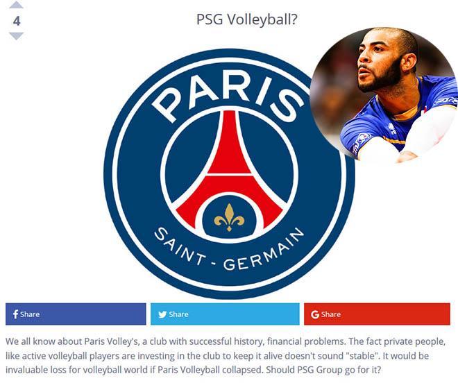 """Đây là siêu sao PSG không thể bỏ qua nếu xây """"Dream Team"""" bóng chuyền - 1"""